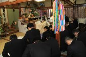 厳かに東日本大震災慰霊祭 ―多くの御霊の安らぎを祈って―