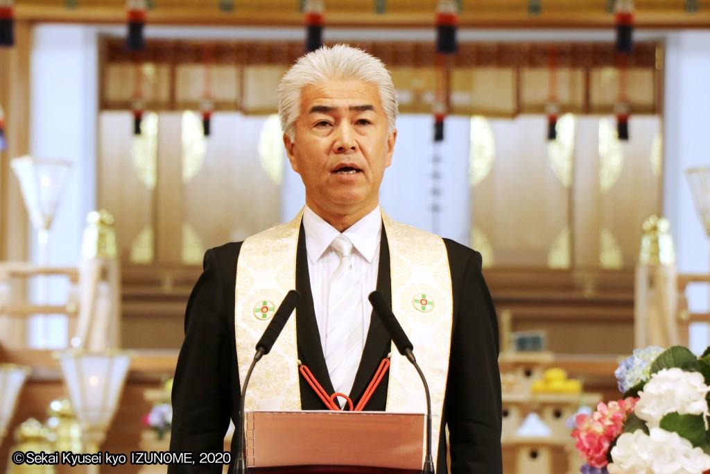 新理事長に選任された杉原清晃(すぎはら きよあき)役員